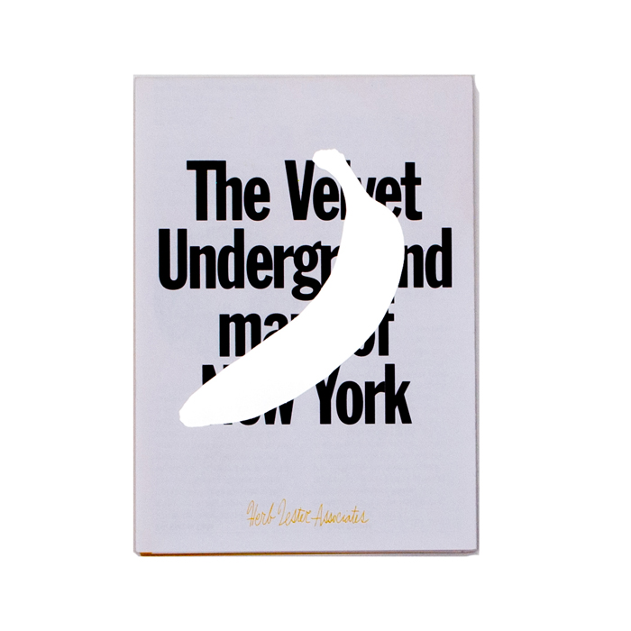 The Velvet Underground map of New-York