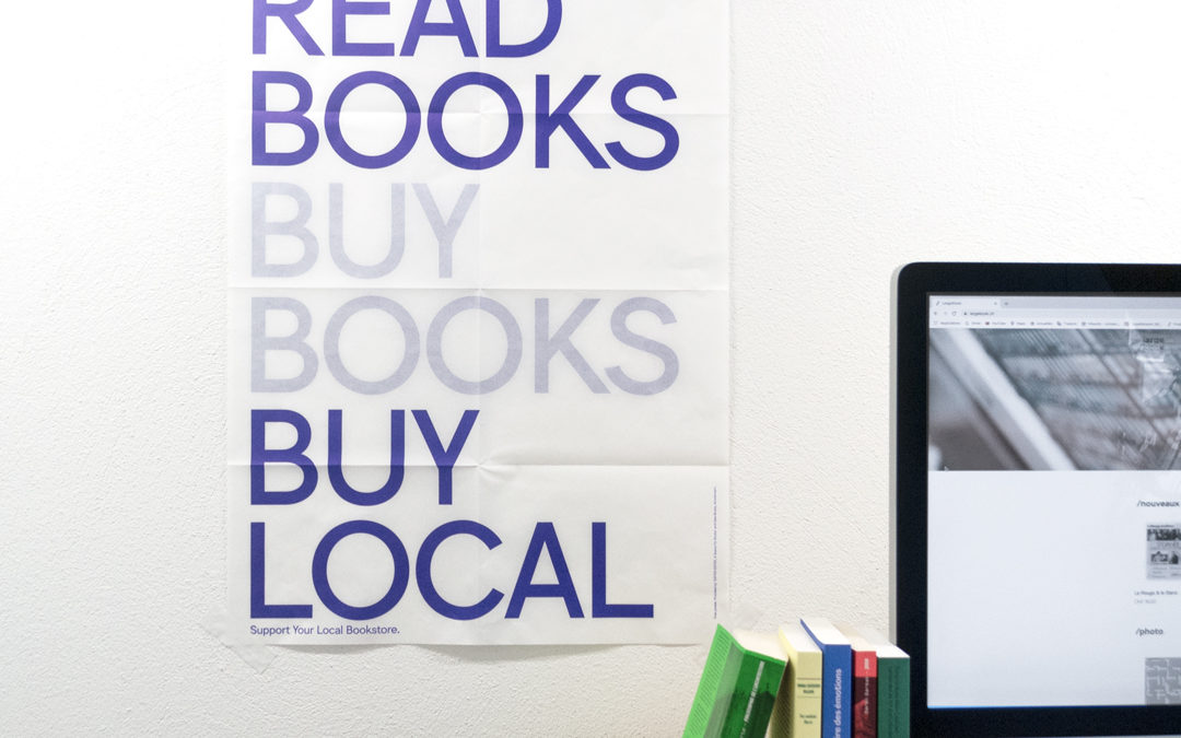 Read books, buy books, buy local