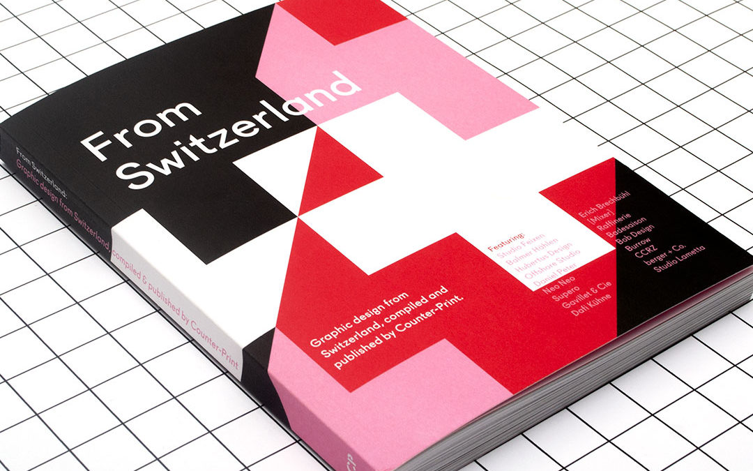 "«From Switzerland», design ""Swiss style"""