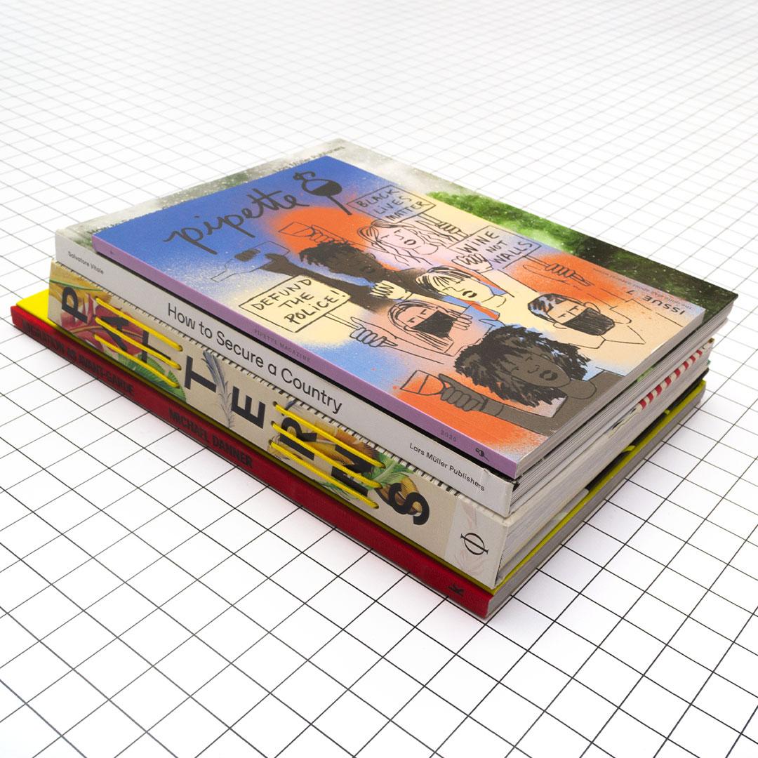 Livres sélectionnés par Estelle, libraire de Large Kiosk
