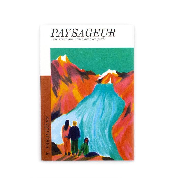 Couverture du magazine Paysageur numéro 4